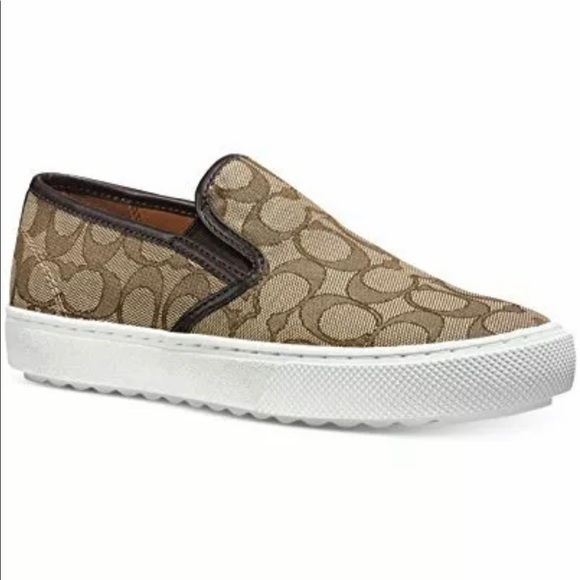 Coach Shoes | Womens Signature Slipon